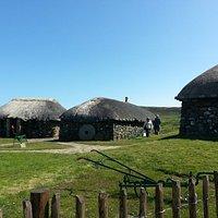 una aldea de la epoca