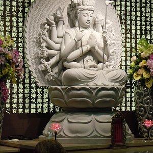 Statue de la salle de compassion