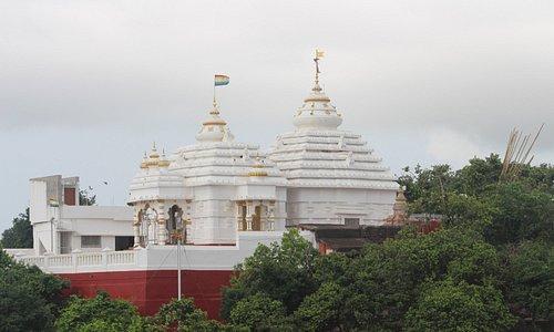 Khandagiri Jain Temple....fine view of Bhubaneswar city from here
