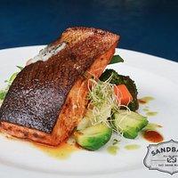Seared Cajun Salmon