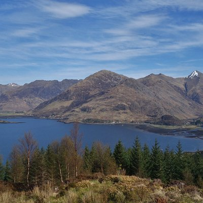 Five Sisters of Kintail Mountains, Scottish Highlands