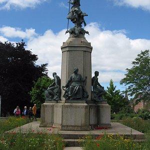 The War Memorial in Northernhay Gardens