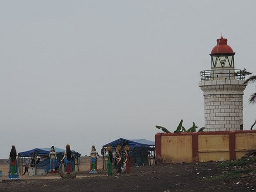 Lighthouse and idols