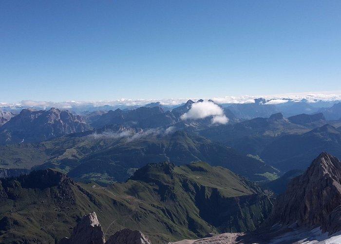 da Malga Ciapela in funivia fino a 3342 mt, uno spettacolo veramente spettacolare