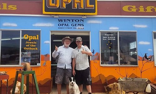 Bruno & Stephen Tasic From Winton Opal Gems