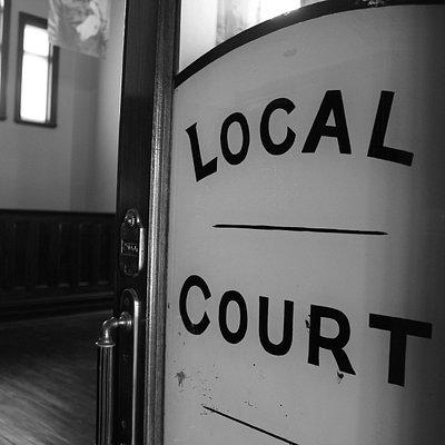 York Courthouse Complex, Avon Terrace, York, W.A. -  courthouse entrance