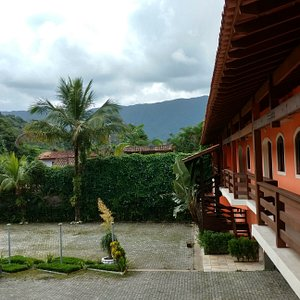 Vista do Hotel Camburi Praia ap.luxo superior