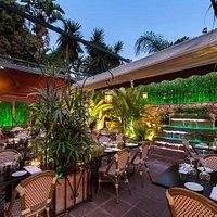 Rancho Grill summer terrace
