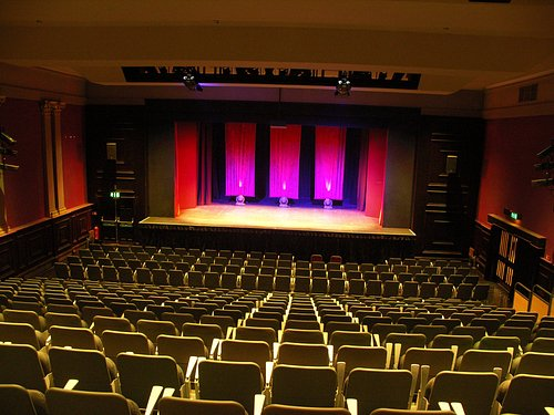 Auditorium with all seats out