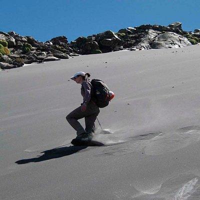Retornando de la cima del Misti!