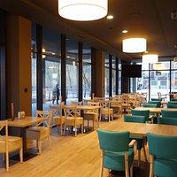 Nuestra nueva cafetería
