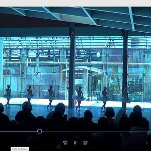 Segundo acto del ballet El Lago de los Cisnes