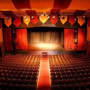 En la Sala Arlequín se pueden vivir toda clase de experiencias teatrales.