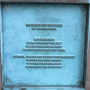 Trier, Memorial for Sinti and Roma