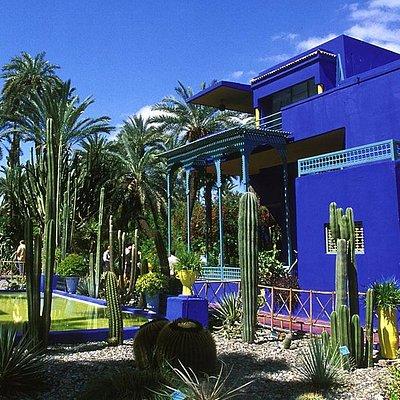 Excursions In Morocco jardin majorelle