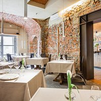 Osteria Front Dining Room