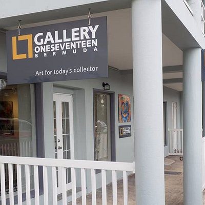 Gallery One Seventeen...Bermuda's newest gallery.  Located on Front Street east, Hamilton