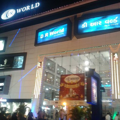 The front picture of Mall taken during Diwali festival.