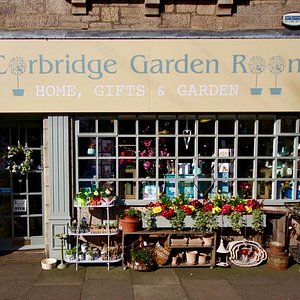 The front of Corbridge Garden Room all ready for opening!