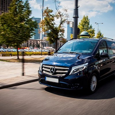 Van transfers from airports - Warsaw Chopin and Modlin