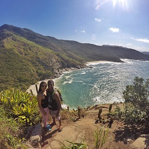 Mirante da Pedra da Tartaruga no Trail Running Tour Praias Selvagens