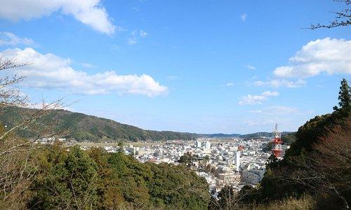 為松公園からの景色