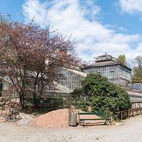 Altes Glashaus im Botanischen Garten Graz