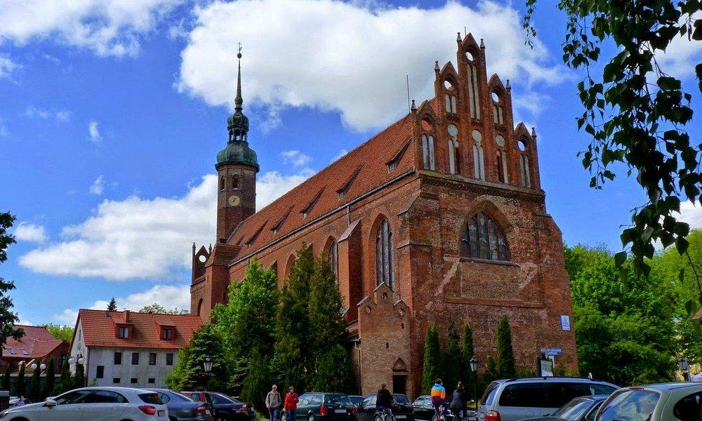 Kościół św. Jacka w Słupsku.
