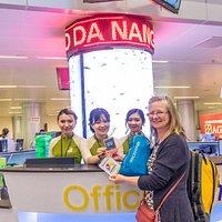 Danang Visitor Center in Danang international airport