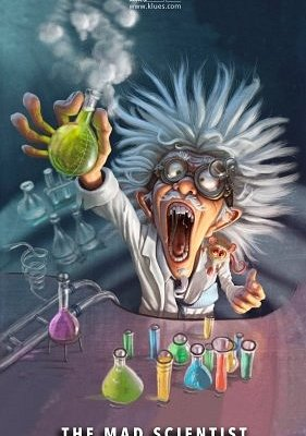 Mad Scientist Room  - Can you find the antidote in time?