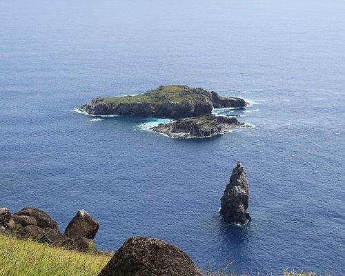 Island just off Orongo Village