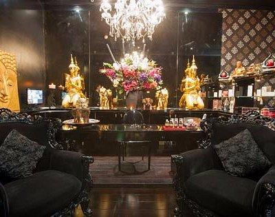 Luxury  Reception area