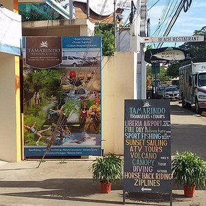 Our downtown office, Tamarindo, CR