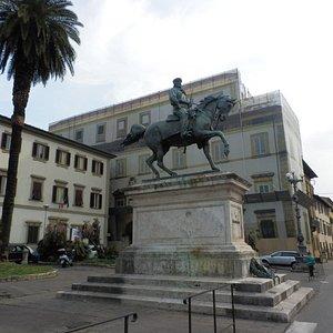 Statua di Giuseppe Garibaldi.