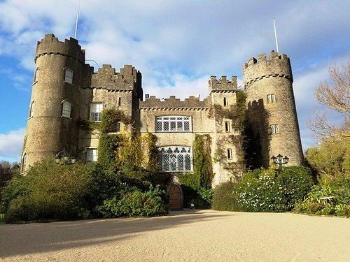 The castle is beutiful