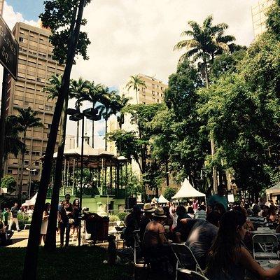 Fui no chefs na praça de 2017, um evento espetacular em uma das praças mais charmosas de Campina