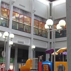Innenhof mit Kinderspielplatz