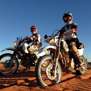 Simpson Desert motorcycle tour