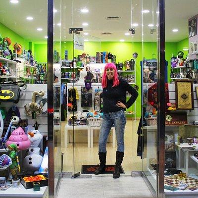 Beatriz y su tienda
