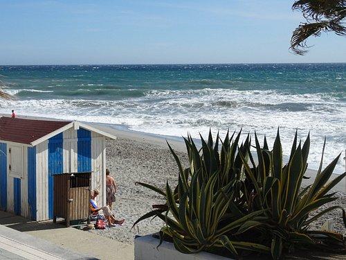 Nerja;Playa Torrecilla ;february 2017