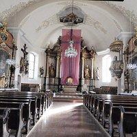 教会内部の様子