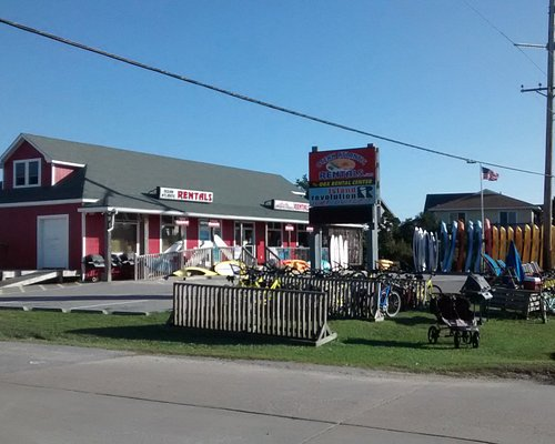 Our Avon store, as seen from the North, next to Outer Beaches Realty