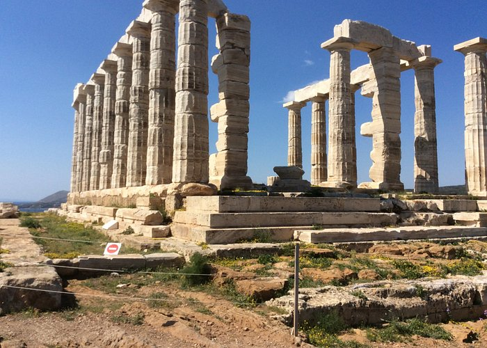 The Temple of Poseidon in Sounion.