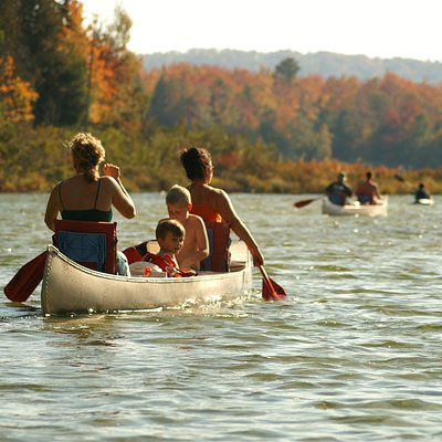 Fall Canoeing