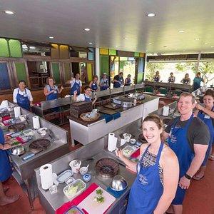 The biggest Thai cooking School in Phuket.