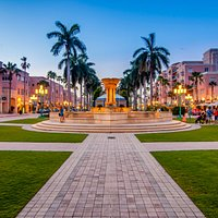 Mizner Park Fountain