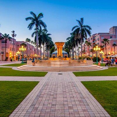 Mizner Park Fountain