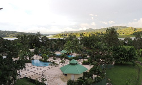 a partial view of the pool area