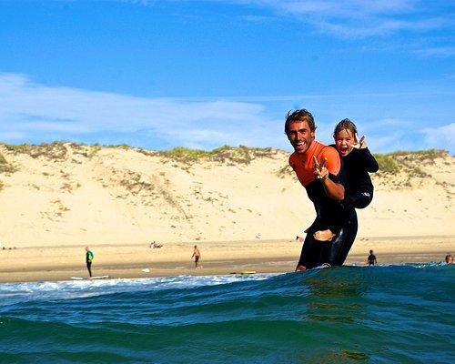 Du Surf sur le dos..