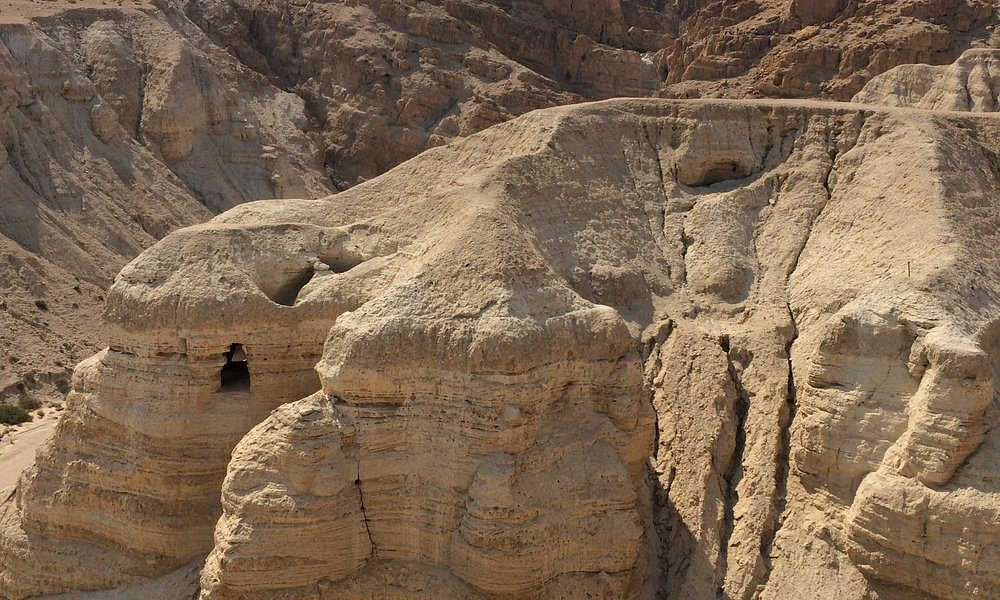 One of the main Dead Sea Scroll caves.